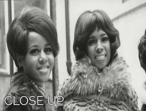 The Supremes ready to sing 3 Split Panel Canvas Print - Canvas Art Rocks - 3