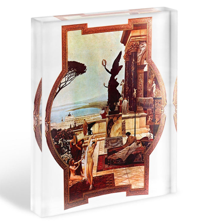 The Theatre of Taormina by Klimt Acrylic Block
