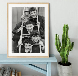 The Tremeloes pop group Framed Print - Canvas Art Rocks - 3