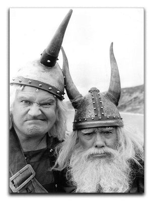 The Two Ronnies dressed as Vikings Canvas Print or Poster  - Canvas Art Rocks - 1