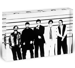 The Usual Suspect Acrylic Block - Canvas Art Rocks - 1