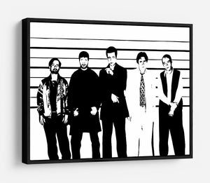 The Usual Suspect HD Metal Print