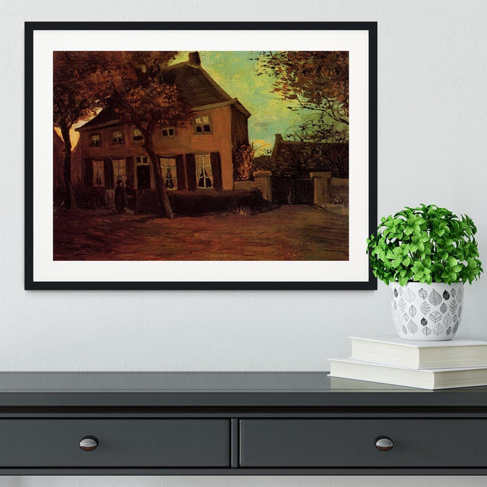 The Vicarage at Nuenen by Van Gogh Framed Print