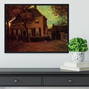 The Vicarage at Nuenen by Van Gogh Framed Print - Canvas Art Rocks - 2