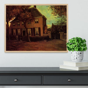 The Vicarage at Nuenen by Van Gogh Framed Print - Canvas Art Rocks - 4