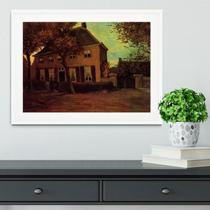 The Vicarage at Nuenen by Van Gogh Framed Print - Canvas Art Rocks - 5