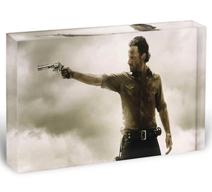 The Walking Dead Acrylic Block - Canvas Art Rocks - 1