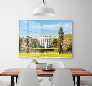The White House Blossoms HD Metal Print