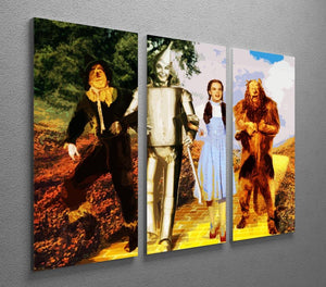 The Wizard Of Oz 3 Split Panel Canvas Print - Canvas Art Rocks