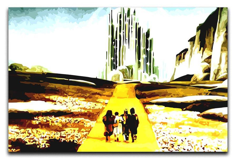 The Wizard Of Oz  Yellow Brick Road Print - Canvas Art Rocks - 1