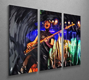 The Wombats 3 Split Panel Canvas Print - Canvas Art Rocks - 2
