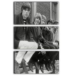 The Yardbirds 3 Split Panel Canvas Print - Canvas Art Rocks - 1