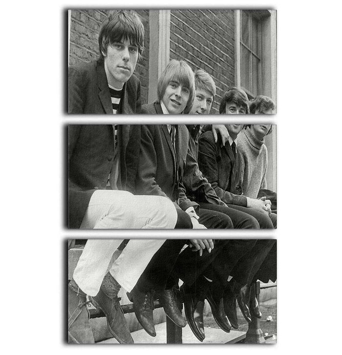 The Yardbirds 3 Split Panel Canvas Print
