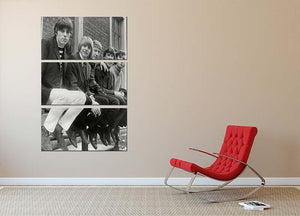 The Yardbirds 3 Split Panel Canvas Print - Canvas Art Rocks - 2