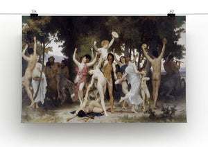 The Youth of Bacchus By Bouguereau Canvas Print or Poster - Canvas Art Rocks - 2