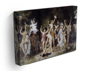 The Youth of Bacchus By Bouguereau Canvas Print or Poster - Canvas Art Rocks - 3