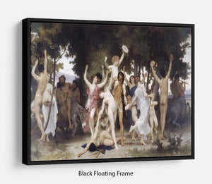 The Youth of Bacchus By Bouguereau Floating Frame Canvas