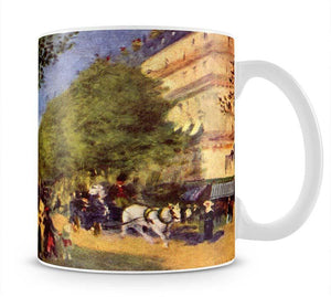 The big boulevards by Renoir Mug - Canvas Art Rocks - 1