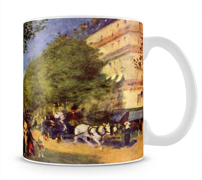 The big boulevards by Renoir Mug