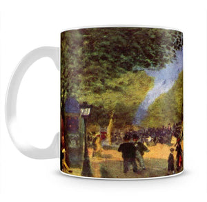 The big boulevards by Renoir Mug - Canvas Art Rocks - 2