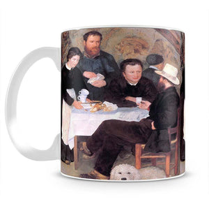 The cabaret of Mm Antony by Renoir Mug - Canvas Art Rocks - 2