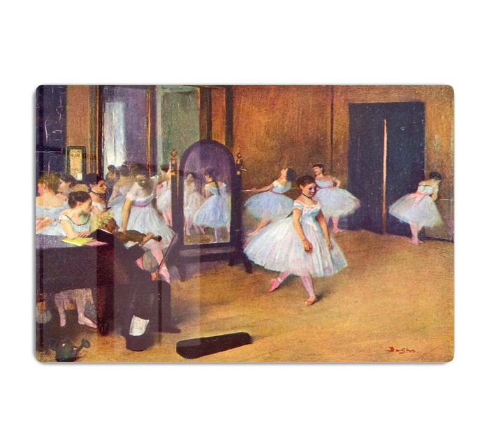 The dance hall by Degas HD Metal Print