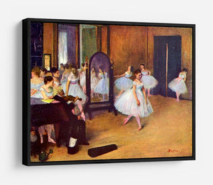 The dance hall by Degas HD Metal Print - Canvas Art Rocks - 6