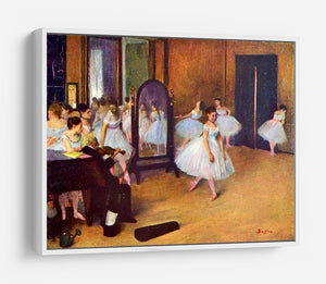 The dance hall by Degas HD Metal Print - Canvas Art Rocks - 7