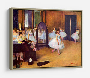 The dance hall by Degas HD Metal Print - Canvas Art Rocks - 8