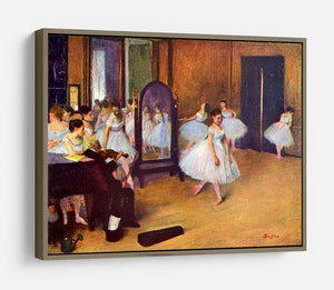The dance hall by Degas HD Metal Print - Canvas Art Rocks - 10