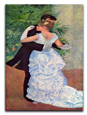 The dance in the city by Renoir Canvas Print or Poster  - Canvas Art Rocks - 1