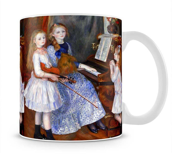 The daughters of Catulle Mendes by Renoir Mug