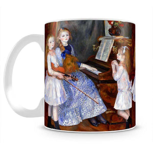 The daughters of Catulle Mendes by Renoir Mug - Canvas Art Rocks - 2