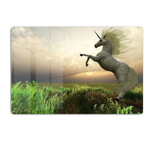The fabled Unicorn Stag HD Metal Print