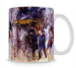 The place Clichy Detail by Renoir Mug - Canvas Art Rocks - 1