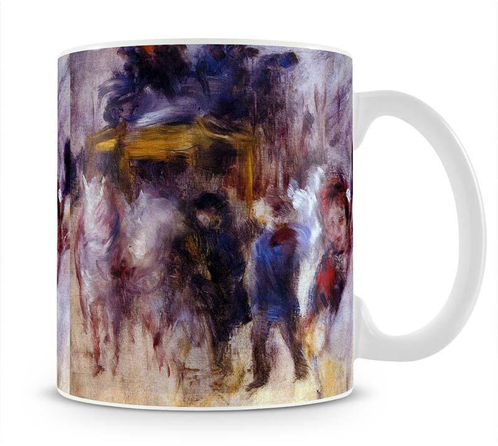 The place Clichy Detail by Renoir Mug