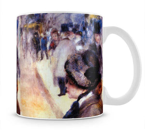 The place Clichy by Renoir Mug - Canvas Art Rocks - 1