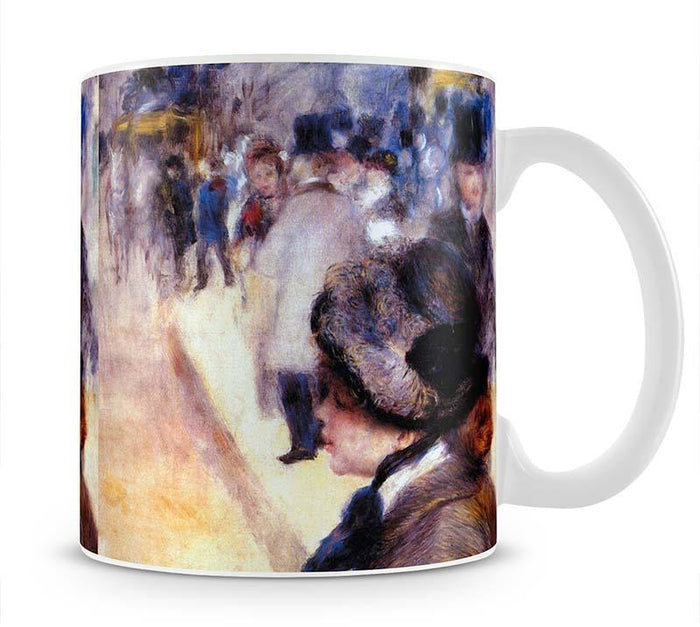 The place Clichy by Renoir Mug