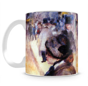 The place Clichy by Renoir Mug - Canvas Art Rocks - 2