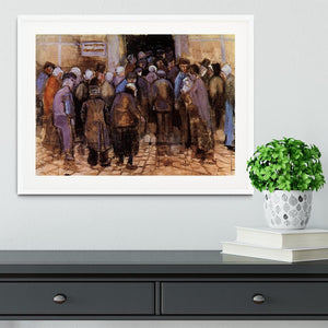 The poor and money by Van Gogh Framed Print - Canvas Art Rocks - 5