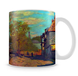 The stream of Robec by Claude Monet Mug - Canvas Art Rocks - 4