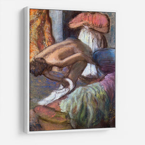 The strengthening after the bathwater by Degas HD Metal Print - Canvas Art Rocks - 7