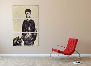 The urchin by Manet 3 Split Panel Canvas Print - Canvas Art Rocks - 2