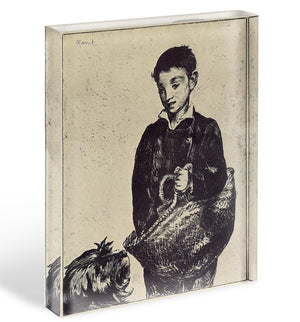 The urchin by Manet Acrylic Block - Canvas Art Rocks - 1