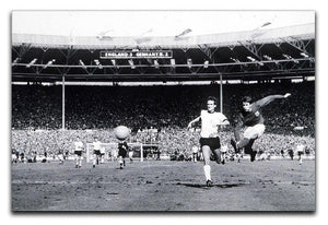 They think its all over Geoff Hurst Goal Canvas Print or Poster  - Canvas Art Rocks - 1