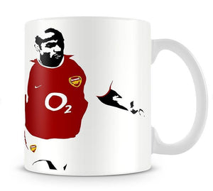 Thierry Henry Pop Art Mug - Canvas Art Rocks - 1