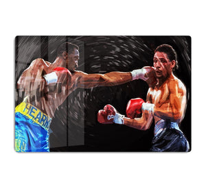 Thomas Hearns vs Virgil Hill HD Metal Print