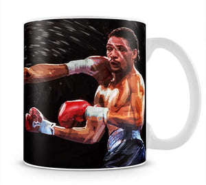 Thomas Hearns vs Virgil Hill Mug - Canvas Art Rocks - 1