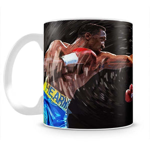 Thomas Hearns vs Virgil Hill Mug - Canvas Art Rocks - 2