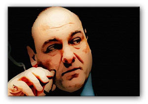 Tony Soprano Print - Canvas Art Rocks - 1